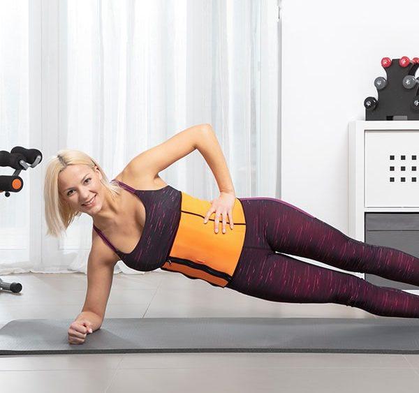 Afslank-Fitness gordel